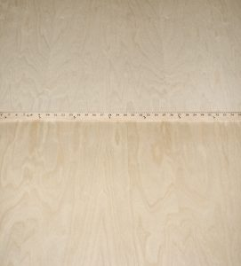 Birch, White Flat Cut