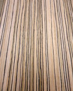 Zebrawood, Quarter Cut composite prefinished (EFW)-2