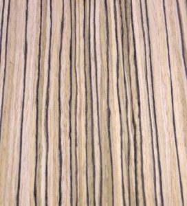 Zebrawood, Quarter Cut composite prefinished (EFW)